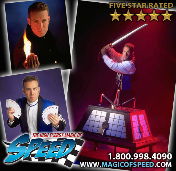 Magician in Maryland - Alex deTessieres
